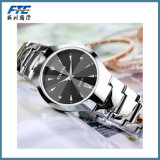 Reloj unisex de la pulsera del reloj del metal