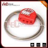 Elecpopular Best Products Bloqueio de válvula de segurança ajustável Mini cabo de bloqueio