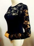 여자 형식 옷 섹시한 성인 니트 Bodysuit 내복