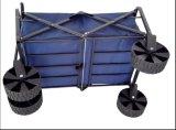 カートを折る手押し車の一輪車手トラックのショッピングトロリー園芸工具のツール