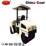 Mini straßen-Rollen-Verdichtungsgerät des Dieselmotor-Zm-3000 hydraulisches Vibrations