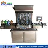 Acero inoxidable pasta totalmente automática Máquina de Llenado de la máquina de llenado de detergente