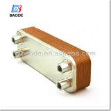 Tipo cubierto con bronce cobre cambiador de la placa de calor del agua de golpecito para el calentador de agua doméstico, caldera, serie del calentador de agua de golpecito Bl95