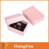 Eleganter Papierverpackengeschenk-Kasten für Ohrringe