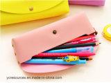 De Zakken van de Kantoorbehoeften van de Kleur Pu van het suikergoed --De Zakken van de pen