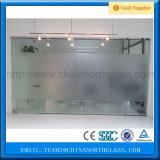 12 mm taille Jumbo cloison en verre trempé clair