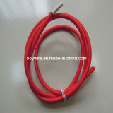 Roter Briaded Netzanschlusskabel-hängende Lampen-Draht