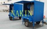 Tipo de remolque vacío de aceite del transformador eléctrico, aceite, aceite aislante purificadora