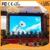 Tarjeta de mensaje video del anuncio de LED P4.81 de la muestra al aire libre de la visualización LED