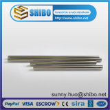 Tungsten Rod / High Purity Finition au sol Barres de tungstène