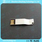 Bastone luminoso del USB del metallo del nuovo argento unico di disegno 2016 (ZYF1737)