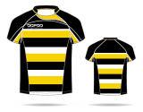 カスタム印刷を用いる健康ファブリックラグビーのワイシャツのジャージーのラグビーのユニフォーム