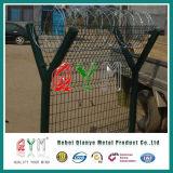 空港金網の塀/高い安全性かみそりワイヤー空港塀