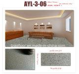 PVC 지면 매트 PVC 비닐 마루 회전 지면 대리석 디자인