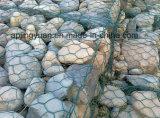 Soldado Gabion galvanizado y PVC Gabion de malla tejida de mallas