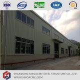 Faible coût Sinoacme Light Frame Atelier de structure en acier