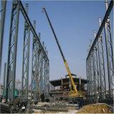 Planta de la estructura de acero vertida con el palmo grande