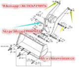 Pezzi di ricambio Bush di Sdlg LG933 LG936 LG938 del caricatore genuino della rotella 4043000121 4043000123 4043000124