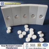 Mattonelle di ceramica del tubo dell'allumina di industria di Chemshun per protezione di usura