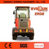 Everun 상표 세륨은 0.8 톤 소형 바퀴 로더를 승인했다