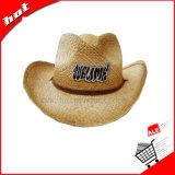 Chapéu de promoção Hat Raffia Hat Chapéu de vaqueiro Chapéu de palha