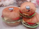 Hamburger jeter l'oreiller moelleux