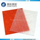 Feuille de plastique solide en polycarbonate en diamant de cinq couleurs