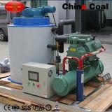 Indústria Air-Cooled comercial Flake Máquina de Gelo Máquina do Evaporador