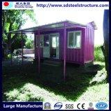 Foldable Tempotary 건축 출하 크레이트 홈