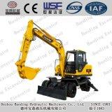 Nuevos pequeños excavadores 8.5ton de la rueda de Shandong Baoding con el compartimiento 0.3m3