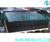 Anti Slip Black Interlock Rubber Powder Stable Mat