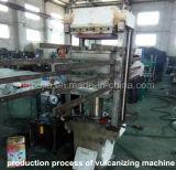 De rubber Vulcanisatie van de Tegel van de Vloer/RubberTegels die Machine maken