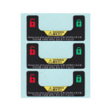 Van de Kleurendruk van het Zelfklevende Etiket van het Huisdier van de Sticker de Sticker \ pp Sitcker van het \- Document