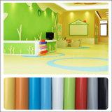 Différentes couleurs de haute qualité conçu un revêtement de sol en vinyle PVC-de-chaussée