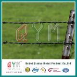 Galvanized/PVC上塗を施してあるかみそりの有刺鉄線/かみそりの有刺鉄線の網の塀