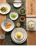 Flor simple juego de sushi de estilo japonés