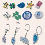 Catena chiave poco costosa, distintivo, facente pubblicità ai regali (GZHY-FFL-001)