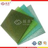 Folha 100% material do policarbonato de Bayer Multiwall com 10 anos de garantia (YM-PC-10)
