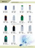 Großhandelsweiße Plastikflaschen-pharmazeutisches Flaschen-Vitamin-Verpacken des Haustier-150ml