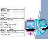 1,54'' Tela de Toque Kids Rastreador GPS Watch (D19)