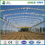 中国は倉庫の研修会のオフィスのための鉄骨構造の建物を組立て式に作った