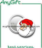 クリスマスボタンのバッジ
