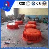 Separador eletromagnético à prova de explosão de equipamentos de mineração com equipamento de elevação