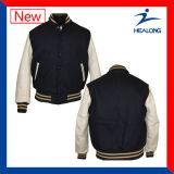 熱い販売デザインWindbreakの人の冬の野球のジャケット