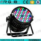 DMX 방수 54X3w RGBW 급상승 LED 동위는 점화할 수 있다