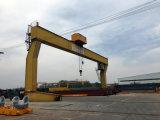 15 톤 20 톤 25 톤 두 배 대들보 긴 여행 호이스트 드는 미사일구조물 기중기