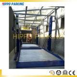 Sistema di parcheggio dell'automobile automatizzato due alberini