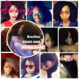 Человеческих волос скручиваемости Afro соткать волос Kinky перуанский