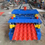 Подгонянная застекленная плитка панели крыши цвета стальная ручная делая машину