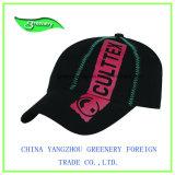 Beau chapeau de sport de noir de broderie de mode neuve